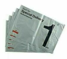 50x C4 Royal Mail Special Delivery mailing bags grey poly