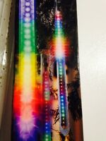 Gemmy Lightshow Set 3 Multi-Color LED Falling Light Tube Shooting Star Christmas