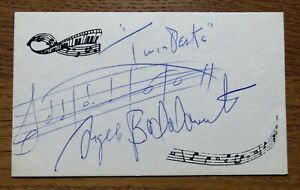 Angelo Badalamenti - Twin Peaks Composer - Signed sheet music - Original Auto !!