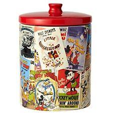 """Enesco Disney Ceramics Mickey Mouse Collage Cookie Jar, 9.25"""", Multicolor"""