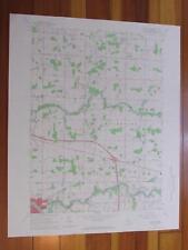 Wacousta Michigan 1967 Original Vintage USGS Topo Map