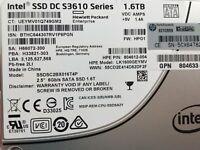 """Intel 1.6TB SSD S3610 Series Enterprise SSDSC2BX016T4P SATA MLC DC Internal 2.5"""""""