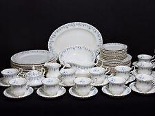 Vintage Royal Albert Memory Lane Dinnerware Set of 12, 5 pc Place Settings + EUC