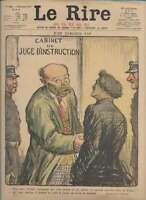 Journal Le RIRE Rouge, édition de guerre N° 155 du 3 novembre 1917
