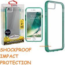 GRIFFIN SURVIVOR CLEAR BACK CASE Apple iPhone 6 6S 7 8 smart phone bumper cover