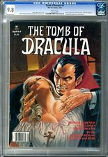 Tomb of Dracula  #4  CGC  9.8  NMMT  White Pages