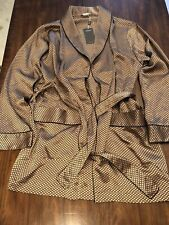 Zimmerli Short Silk Robe Gr. M