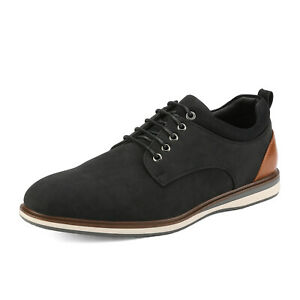 Bruno Marc Mens Leather Lined Casual Shoes Lace Up Formal Dress Oxford Shoes