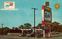 Winchester Virginia Duffs Quality Court Resort Motel Old Cars Postcard