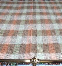 Classic Vintage Woollen Patchwork Picnic Blanket / Bed Throw