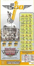 2016 Indy 500 100th Running Indianapolis Lottery Ticket