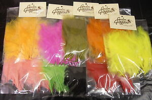 50 Plumes Gordon Griffiths Marabou - over 30 colours available - for fly tying