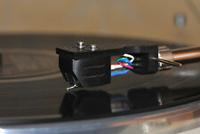 Ebony Wood BODY f. AudioTechnica AT95E Cartridge MC Look Perfect Sound Improv.