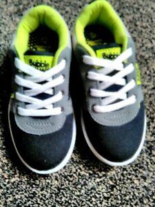 Toddlers Boys Infants Canvas Lace Up Plimsolls Pumps Trainers Shoes Size 4,5,6