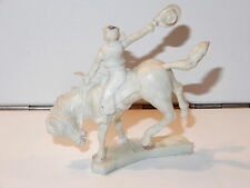 CHERILEA WILD WEST RODEO COWBOY ON BUCKING HORSE 1960s ENGLAND