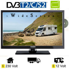 Telefunken T20X740 MOBIL 20 Zoll LED TV USB 12V 230V Wohnmobil Camping