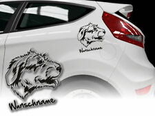 Aufkleber Irish Wolfhound Irischer Wolfshund H235 Hundeaufkleber Wunschname