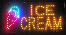 Led Neon Light Open Sign with Animation On/Off and Power On/Off Ice Cream L07
