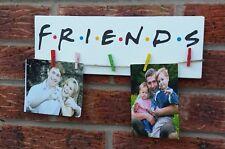 Gli amici TELEFILM sitcom da appendere foto con segno di placca in legno idea regalo