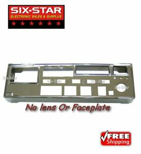 Chrome Front Bezel Fits Galaxy DX-99 CB 10 Meter Radio - NO FACEPLATE OR LENS