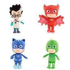 4PCS SET PJ Masks Mask Plush Toy OWLETTE GEKKO CATBOY Owlette 8""