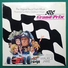 GRAND PRIX Film Soundtrack LP Maurice Jarre OST Frankenheimer Motor Racing F1 67