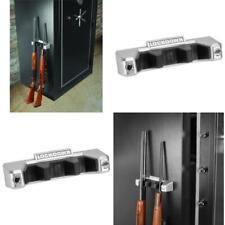 Gun Safe Storage Magnetic Barrel Rest Rack Holder Organizer Accessories Shelf