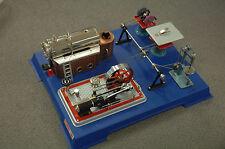 Wilesco 00161 Damfmaschiene auf Modellbauplatte D161  NEU