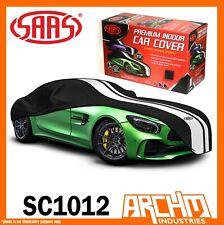 SAAS Indoor Car Cover Large 5.0m Black fits Porsche 911 928 996 Boxter Cayman