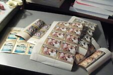 South Arabia States 800 Mnh stamps sheets folded in last pic