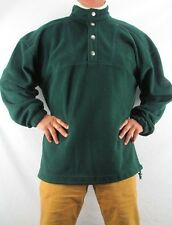 HEAD Men's 1/4 Neck Snap Green Fleece Jacket  Ski Snowboard Size L  YNZ2