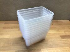 10x Ikea Boîte Boxes 5 Litre Case Coffre à Jouets de Conservation Rangement