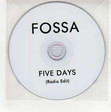 (GG401) Fossa, Five Days - DJ CD