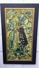 1961 Abstract FINE OIL PAINTING Amilcar Solomon Zorrilla PERU