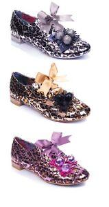 Irregular Choice 'Femme' Lace Up Flats Flat Shoes - 3 Colours
