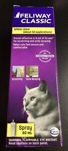 Ceva Feliway Spray 60 ml Cat Feline Stress Behavior Relief Urine Spraying #1173