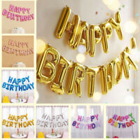 Happy Birthday Wand Hängende Folienballon Luftballons Buchstaben Geburtstag Deko