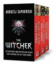 The Witcher Boxed Set: Blood of Elves The Time of Contempt Baptism (Paperback)