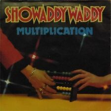 "SHOWADDYWADDY 'MULTIPLICATION' UK PICTURE SLEEVE 7"" SINGLE"