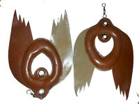 New Falconry Bird Lure, Wing Lure, Swing Lure Standard Size, Pure Leather
