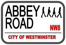 Abbey Road Beatles Street Metal Sign