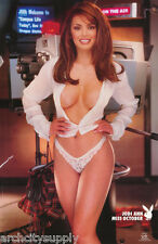 LOT OF 2 POSTERS:PLAYBOY - JODI ANN MISS OCT 1999 - SEXY MODEL   #3538    LP45 F