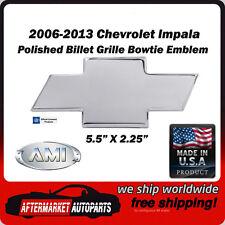 06-13 Chevrolet Impala Polished Billet Aluminum Bowtie Grille Emblem AMI 96023P