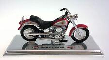 Harley Davidson 1999 FLSTF Fat Boy Motorcycle w Stand Maisto 1:18