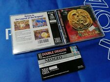 NEO GEO SNK CD DOUBLE DRAGON US VERSION (ORIGINAL USED)