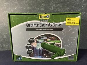 TetraPond UVC-9 GreenFree UV Clarifiers For Up To 1800 Gallons