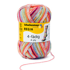 Regia 4-fädig Color 50g Sockenwolle Farbe 01132 Square Candy