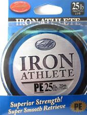 LUCKY CRAFT Iron Athlete PE Braided Line - 25lb 77yds