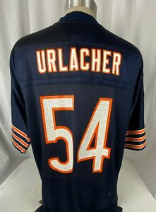 New Authentic Vintage Reebok Brian Urlacher Jersey Size Large