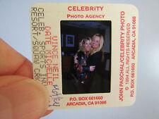 More details for original press photo slide negative - motley crue - vince neil & date michelle